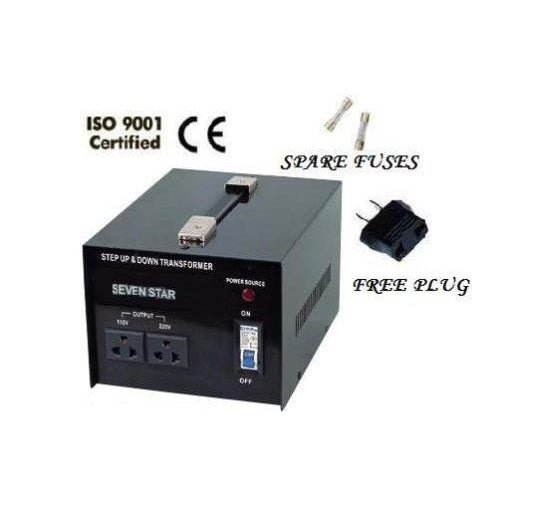 Seven Star ST-2000 Voltage Transformer Converter Step Up / Down 2000 Watts 110/220V