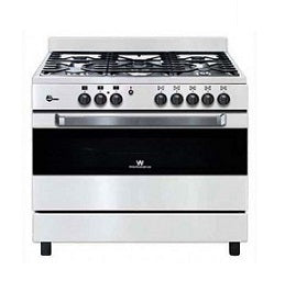 WHITE WESTINGHOUSE WPGFT9055CMW GAS COOKING RANGE 220V