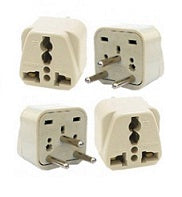 Type H - Ckitze Grounded 2 in 1 Plug Adapter (4 Pack)- Israel, Palestine