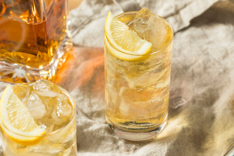 Ginger Ale and whiskey