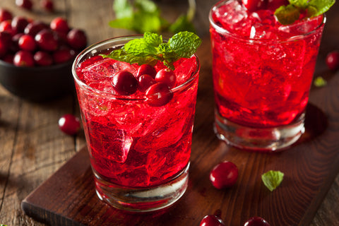 Cranberry Juice and whiskey