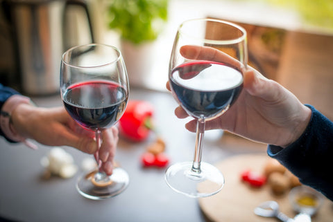How many calories are in red wine?