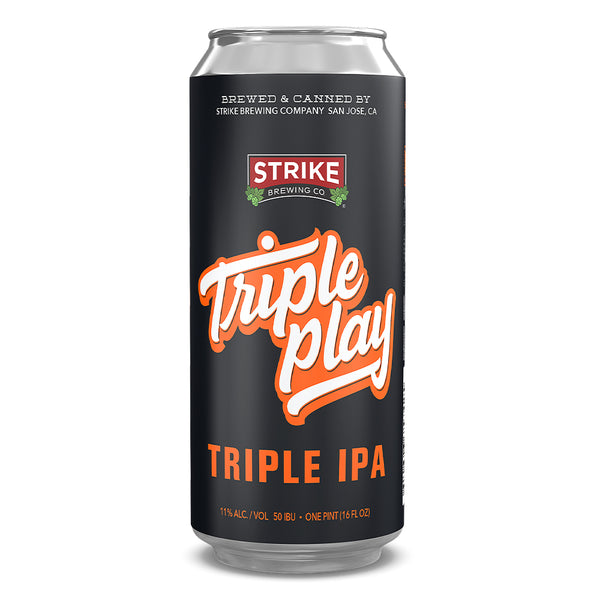Strike Brewing Company Triple Play Triple IPA