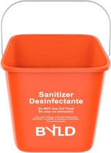 Load image into Gallery viewer, Red Sanitizing Bucket - 3 Quart