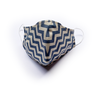 Blue Stripes (Reusable Face Mask)