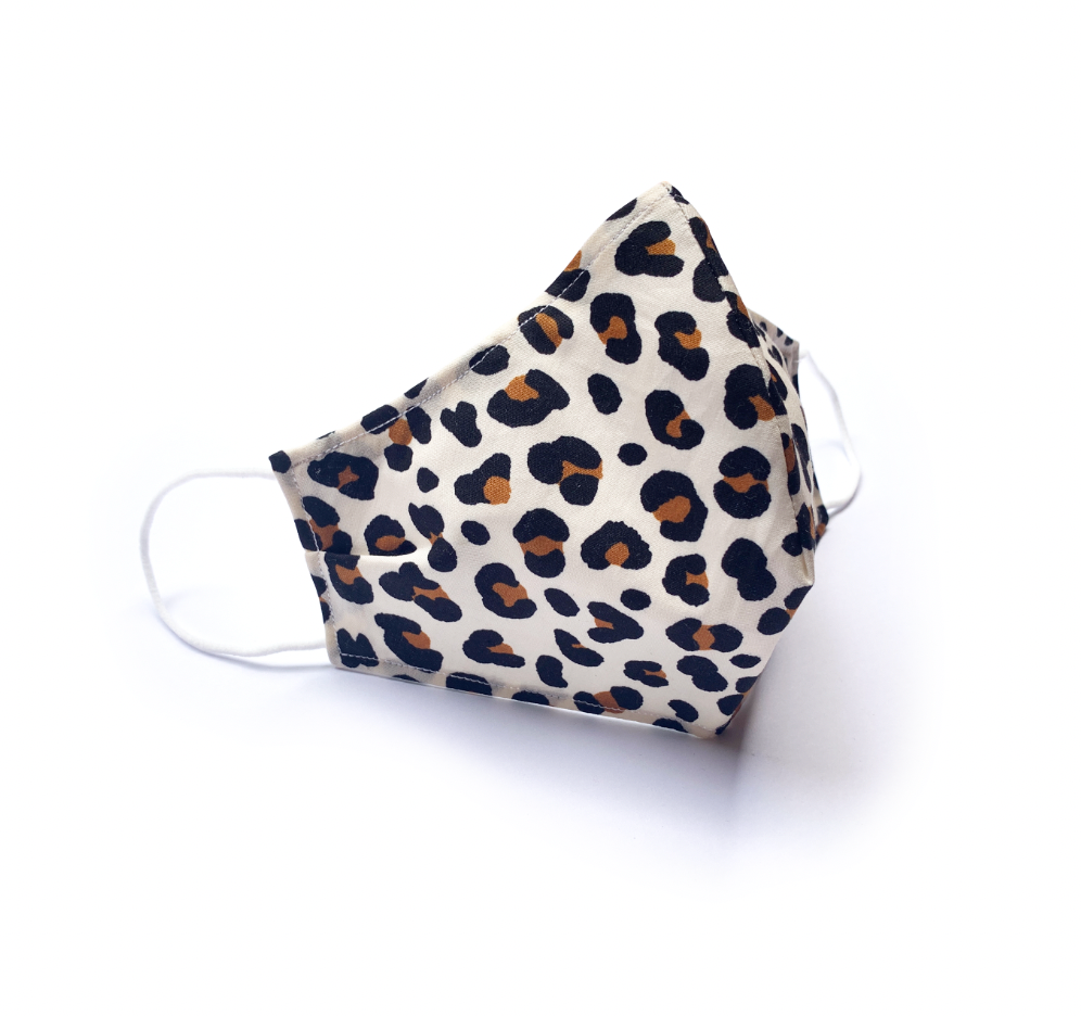 Leopard Print (Reusable Face Mask)