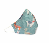 Llamas (Reusable Face Mask)