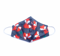 Travelling Fox (Reusable Face Mask)