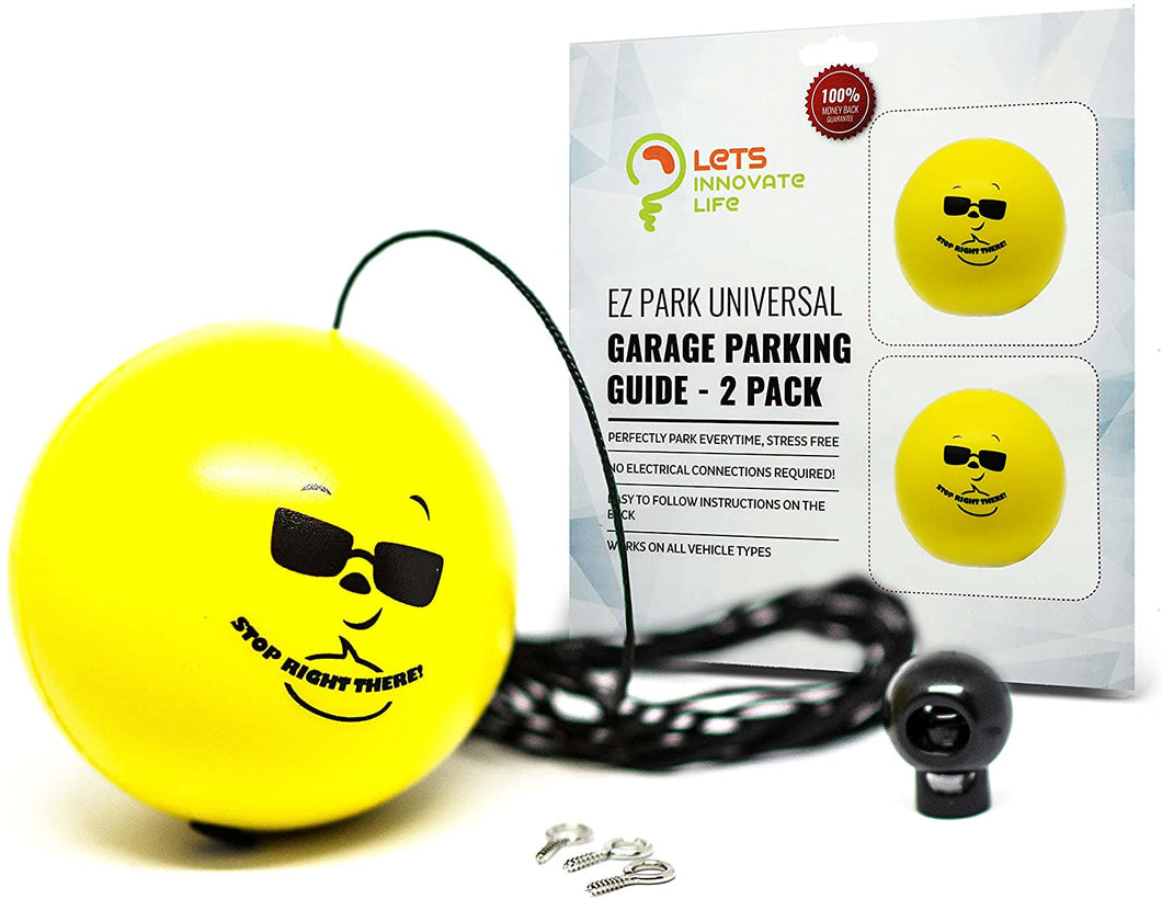 Parking Ball Yellow