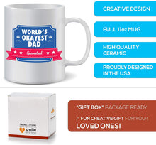 Load image into Gallery viewer, Okayest Dad Mug
