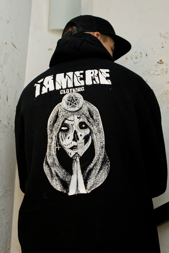 Sweat zippé Santa Muerte - Tamere Clothing