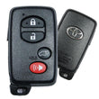 2011 Toyota Venza Smart Remote Key Fob w/ liftgate- (Part Number: 89904-0T060)