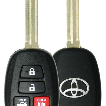 Toyota Camry 4 Button Remote Head Key