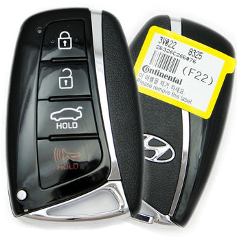 15-17 Hyundai Azera Smart Keyless Entry Remote-95440-3V022