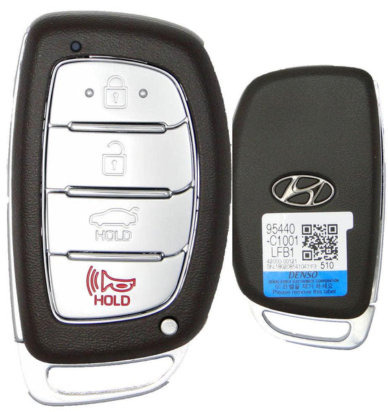 Hyundai Sonata Smart Key Entry Remote Key - (FCC ID: CQOFD00120)