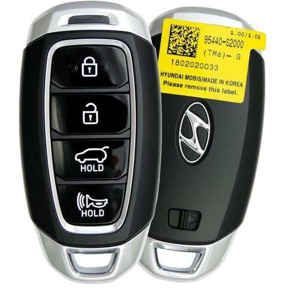 19 Hyundai Santa Fe Smart Keyless Entry Remote Key-95440S1000