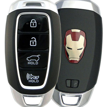 18-20 Hyundai Kona Smart Keyless Entry Remote - Iron Man Logo-95440-J9010