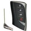 Lexus ES300h/ES350/ES350h 2019+ 4-Button Smart Key [0440]