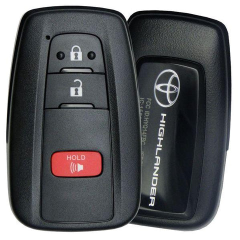 2020 Toyota Highlander Smart Remote-(Part Number: 8990H-0E010)