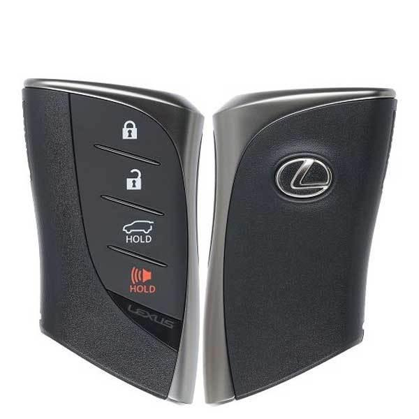 2019-2020 Lexus GX460 / 4-Button Smart Key / PN: 9904-60U80 / HYQ14FBF(OEM)