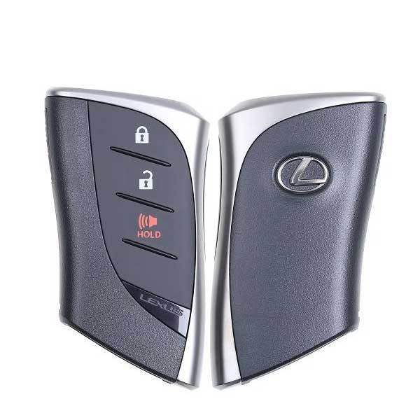 2019-2020 Lexus UX200 UX250h / 3-Button Smart Key / PN: 8990H-76030 / HYQ14FBF (Black Logo) (OEM)