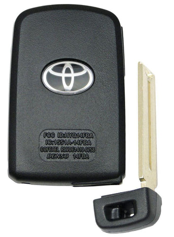 Toyota Camry Keyless Entry Smart Remote Key