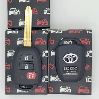 2012 - 2019 Toyota Scion Remote Key Shell 3B (10 Pack)