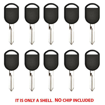 2000 - 2013 Ford Key Shell - H75 (10 Pack)