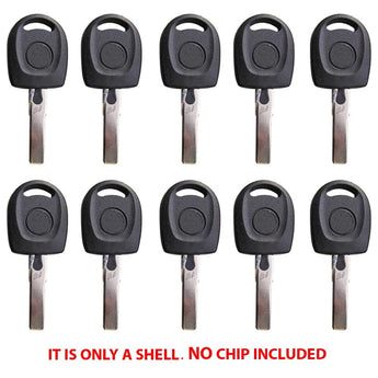 2000 - 2010 VW Key Shell (10 Pack)
