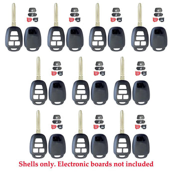 2012 - 2019 Toyota Scion Remote Key Shell 4B (10 Pack)