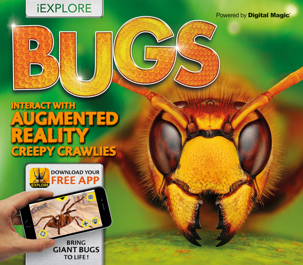 iExplore - Bugs: An Augmented Reality Book