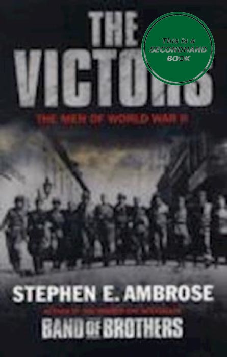 The Victors: Men Of Wwii Book