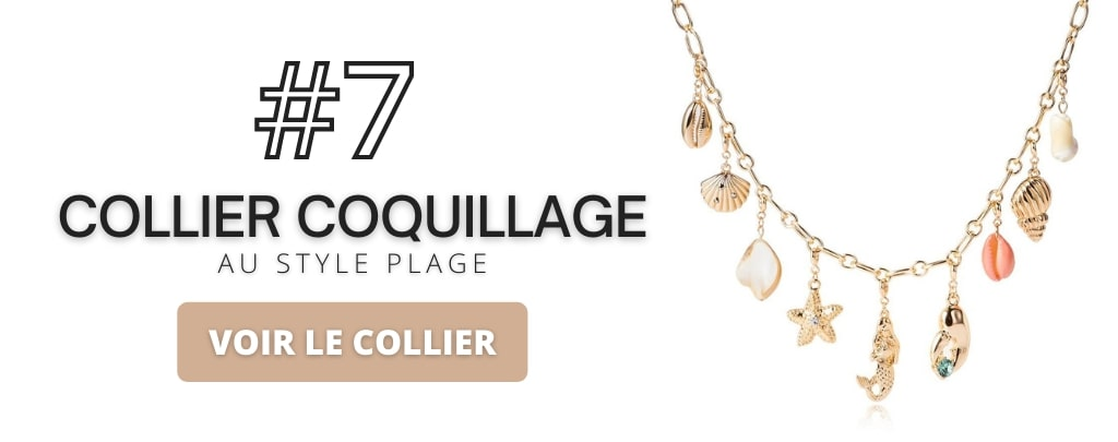 Collier style plage