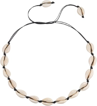 Collier coquillage bohème
