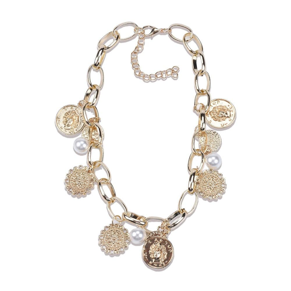 collier coquillage a la mode