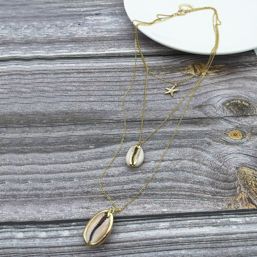 Collier coquillage pas cher