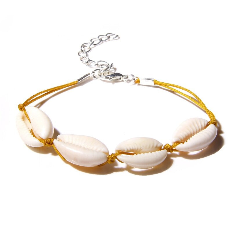Collier coquillage ras du cou