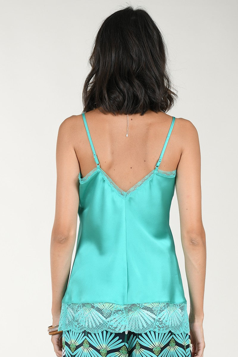 Satin & Lace Camisole