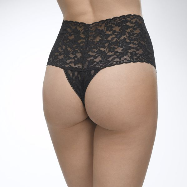 Signature Lace Retro Thong