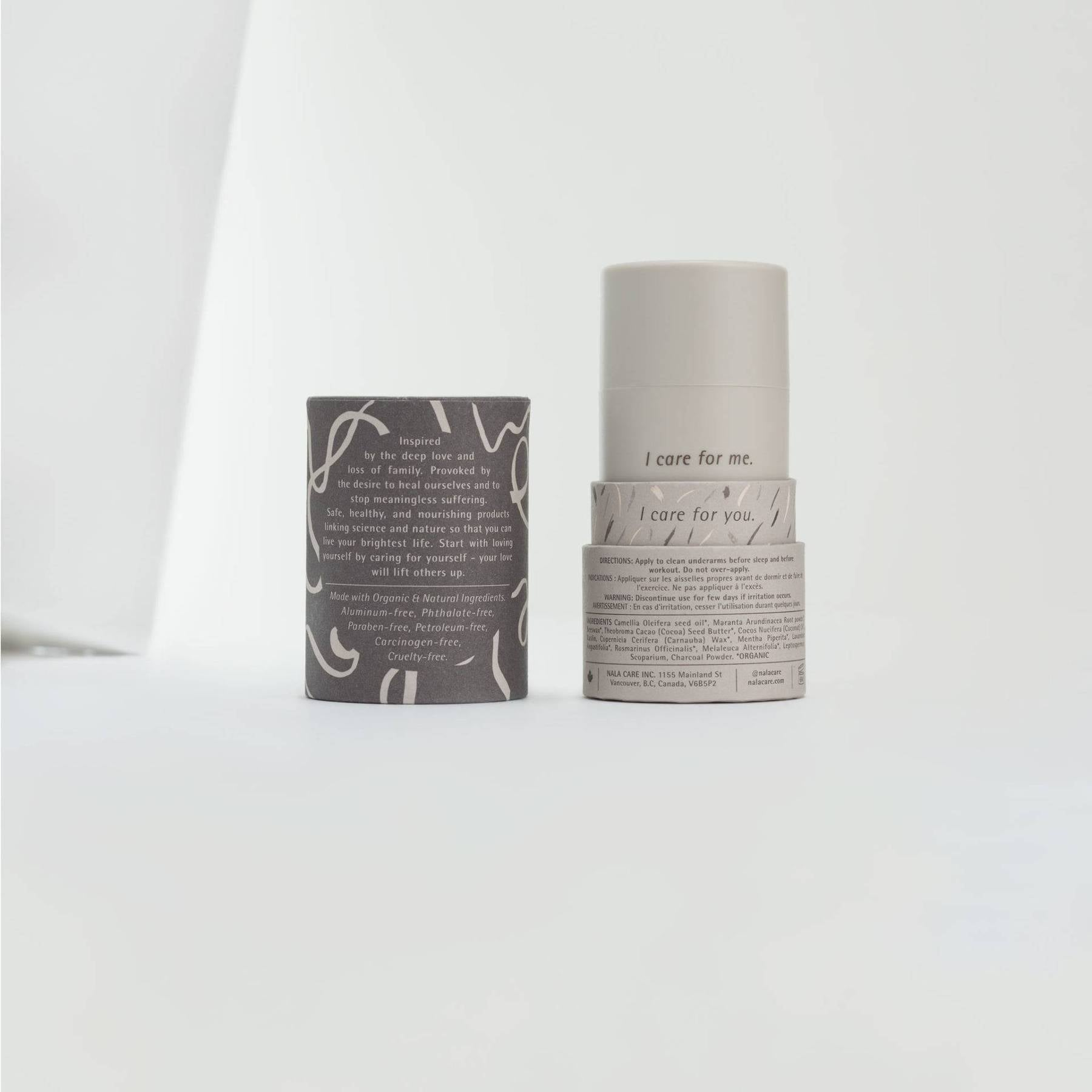 Peppermint & Activated Charcoal Deodorant