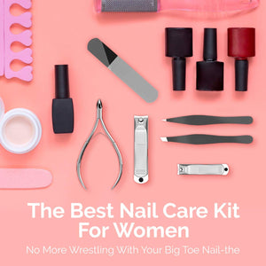 Manicure & Pedicure 6-Piece Grooming Kit