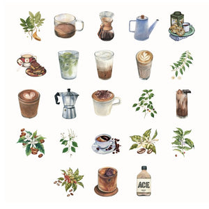 Sticker Set - Coffee