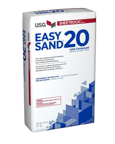 SHEETROCK® Easy Sand™ 20 Lightweight Setting-Type Joint Compound 18lb