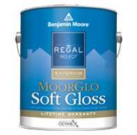 Regal® Select Exterior Paint — MoorGlo® Soft Gloss Finish 096