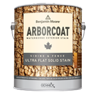 ARBORCOAT Ultra Flat Solid Siding Stain 610