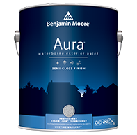 Aura Waterborne Exterior Paint - Semi-Gloss Finish 632