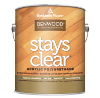Benwood® Stays Clear® Acrylic Polyurethane - Low Lustre 423