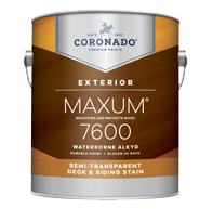 Waterborne Alkyd Semi-Transparent Deck & Siding Stain B7600