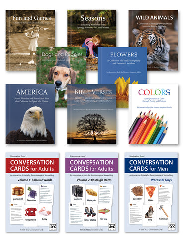 Complete Activity Collection – Books & Conversation Cards