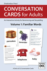 Conversation Cards – Two-Deck Set – Familiar Words & Words for Guys